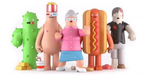 Toy series by Yum Yum London