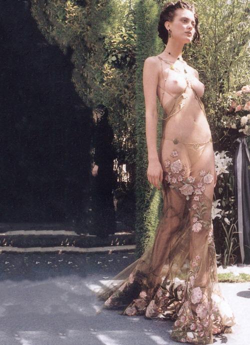 Shalom Harlow - Christian Dior - 1997