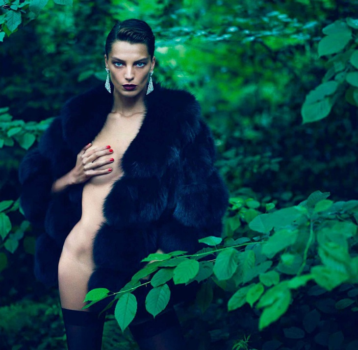 """Le Noir Partie 4″ – Daria Werbowy by Mert & Marcus"