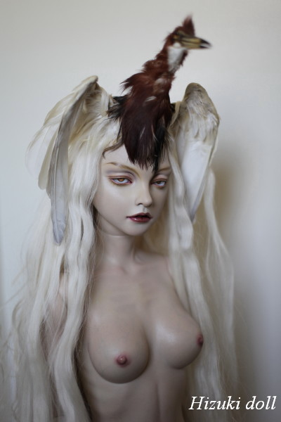 Doll of the demon bird Sirène from Devilman