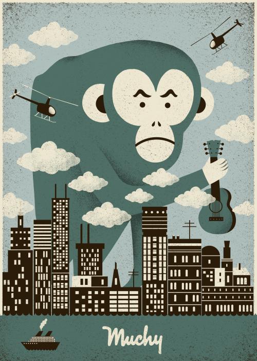 Muchy Poster – Dawid Ryski