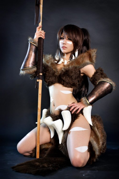 Nidalee (League of Legends) Cosplay