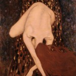 Nude with long hair - Floating Nude - Xi Pan