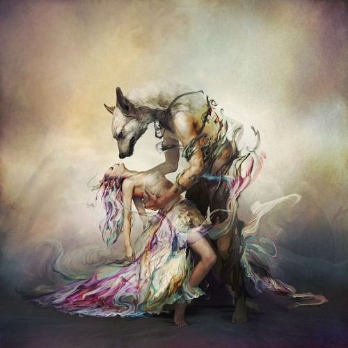 surreal album cover art by Ryohei Hase