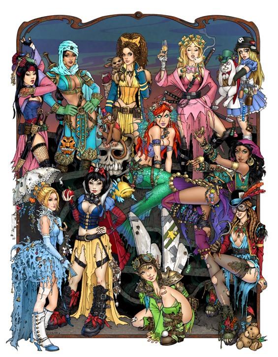 Apocalypse Princesses FINAL by ~TessFowler on deviantART