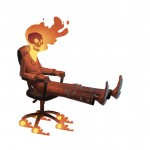 Office Chair Ghost Rider by ~bear65 on deviantART