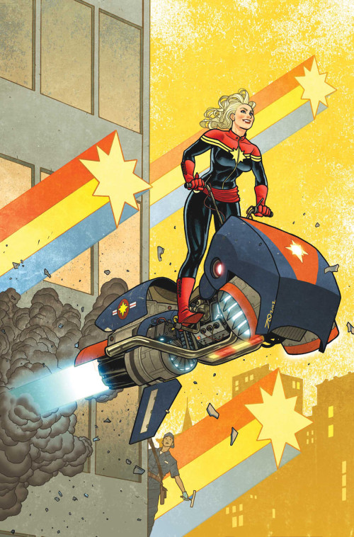 PATLOIKA.COM - comicblah: Captain Marvel #12 cover by Joe...