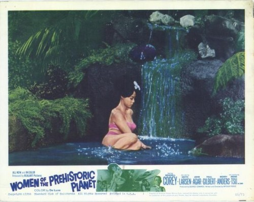 movie poster - Women of the Prehistoric Planet
