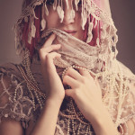 lace and beads in a glamour portrait by ~scottchurch