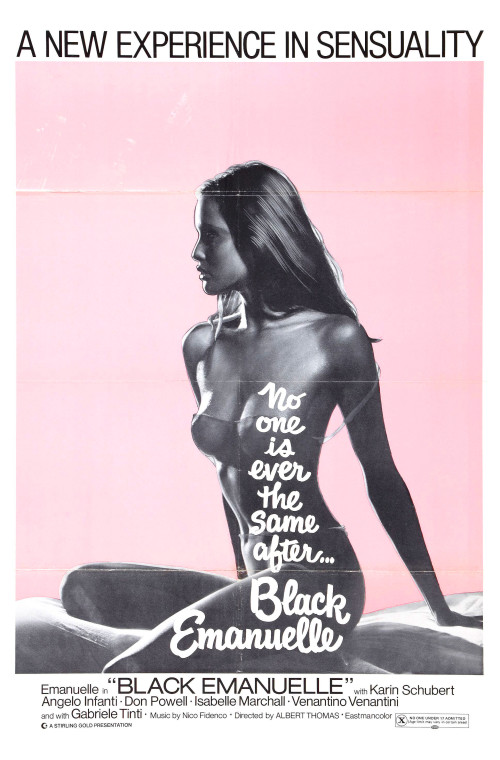 Laura Gemser nude - Poster for Black Emanuelle
