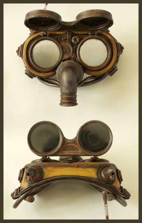 Eteheroscope steam-punk goggles