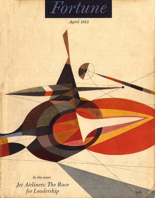 abstract cover of fortune magazine