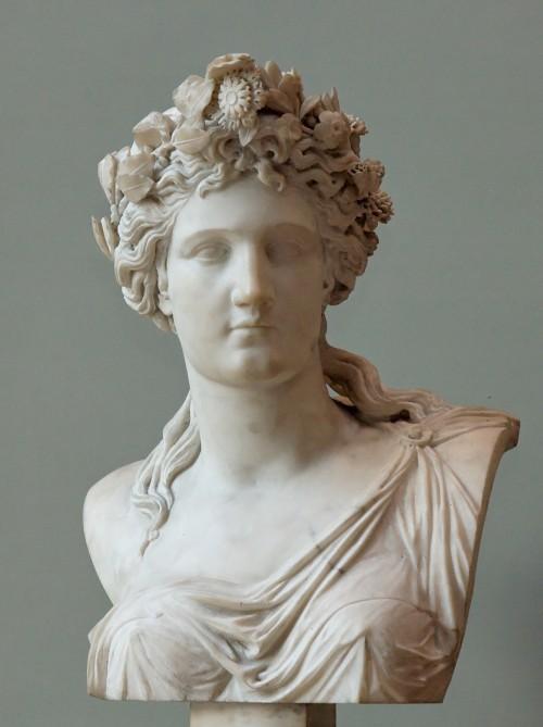 Corinne bust, Louvre