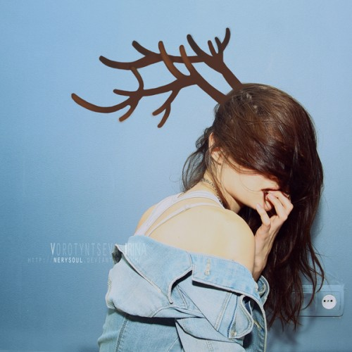 Nerysoul's Merry Christmas with antlers