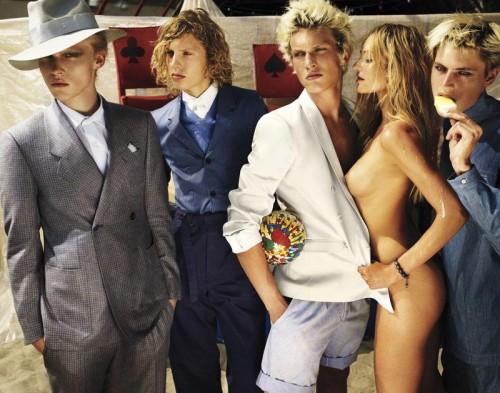 Candice Swanepoel in Copenhagen fashion shoot