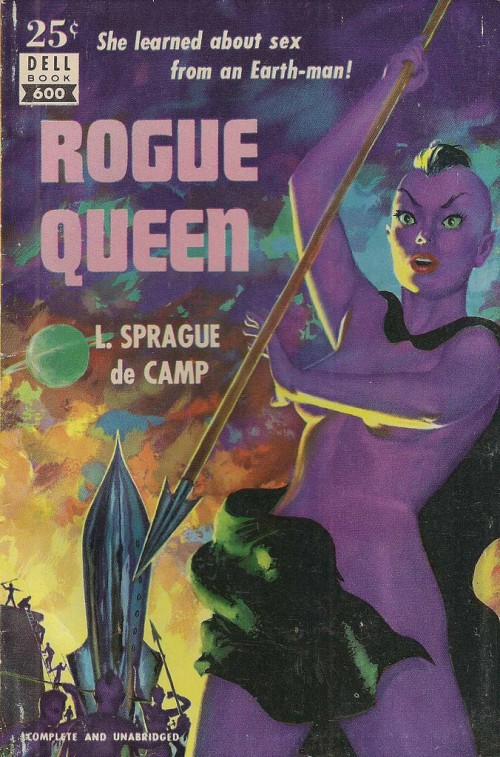 cover art to rogue queen