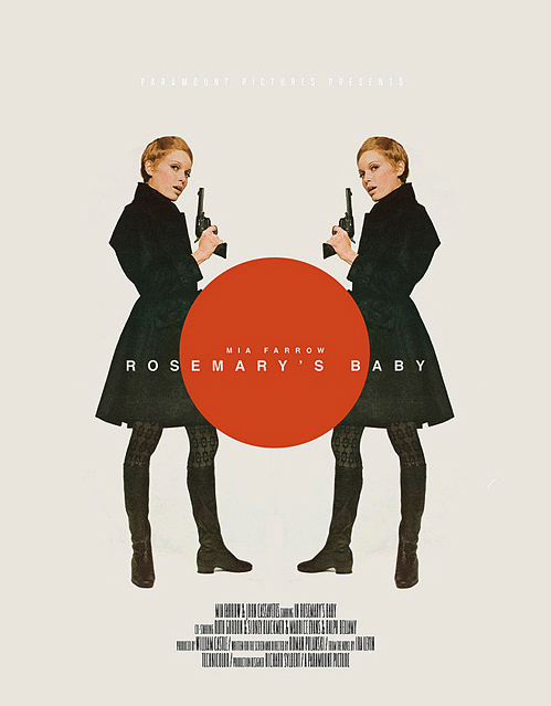 poster for the movie rosemary's baby