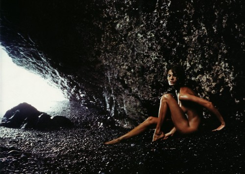 nude in cave