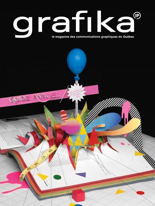 Grafika - graphic communication magazine cover