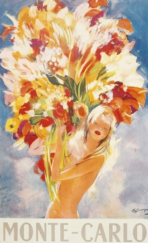 painting of woman holding flowers
