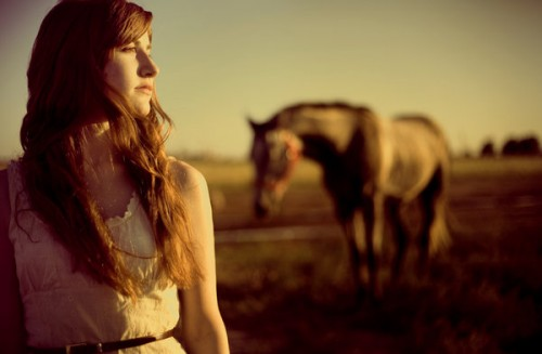Kymbre and horse