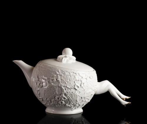 Blaue Blume Tea Pot