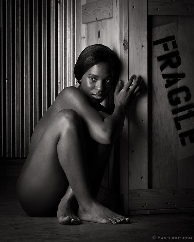 Emelia Paige Strips Naked Outdoors