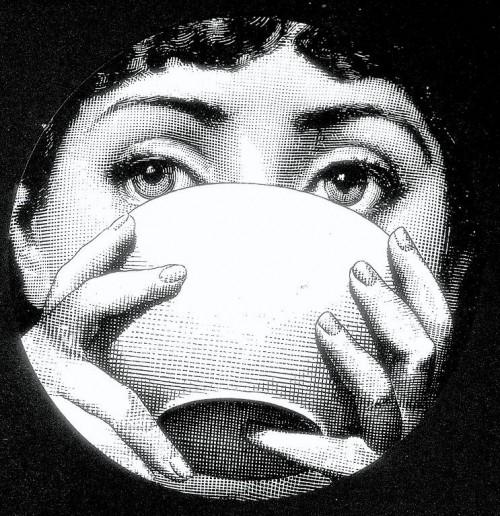 Julia Plate by Piero Fornasetti