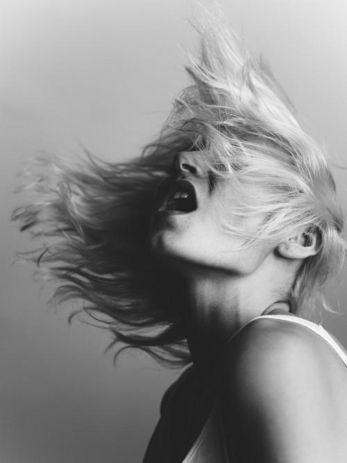 Scream - Sharon van de Pas @ NY models