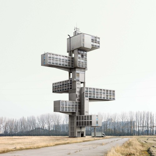 Fictional architecture by Filib Dujardin