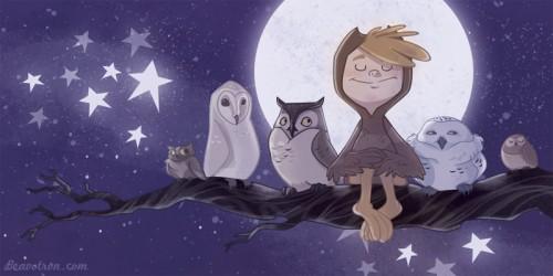 Owl Boy 2 by beavotron