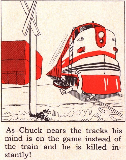 Vintage Safety Manual for kids