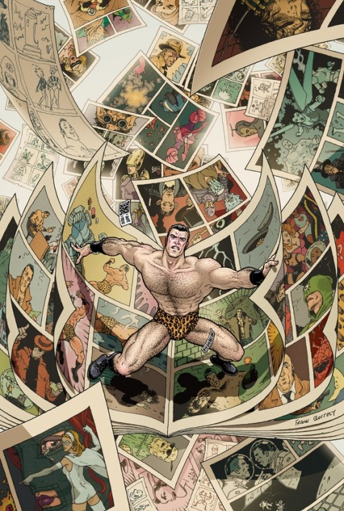 flex mentallo deluxe edition cover by frank quiteley