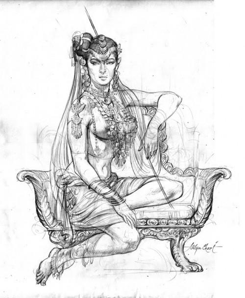 Exotic princess by Aditya Chari