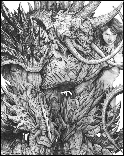 Dreadguard OConnor with Brutus by *madjaguar