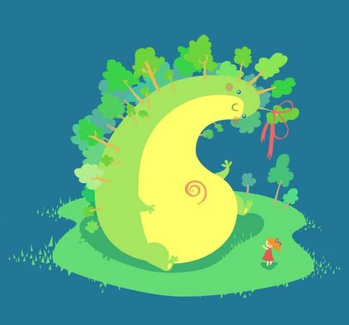 Tree Troll Illustration
