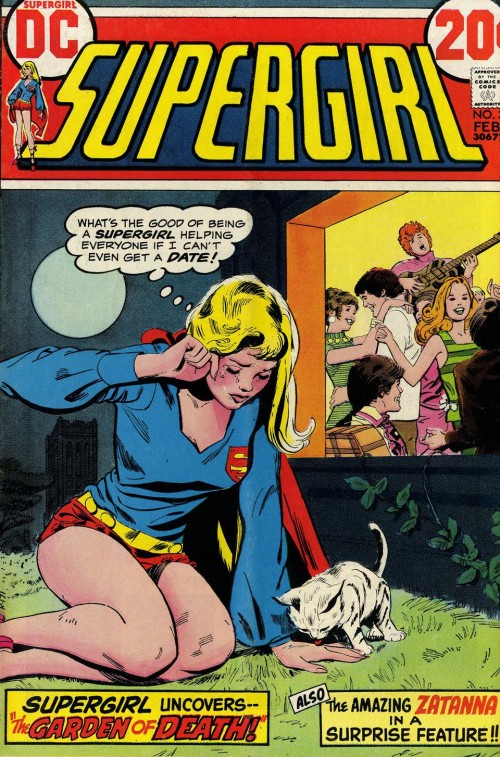 Supergirl crying over social ineptitude