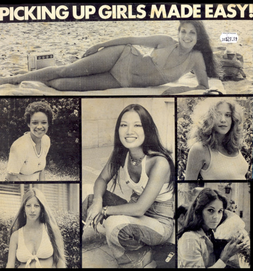 picking up girls made easy album cover