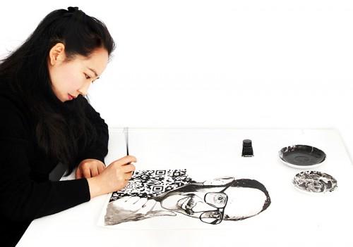 Yiying Lu at work