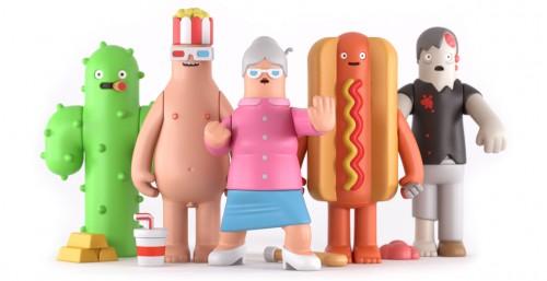 Toy series by Yum Yum London