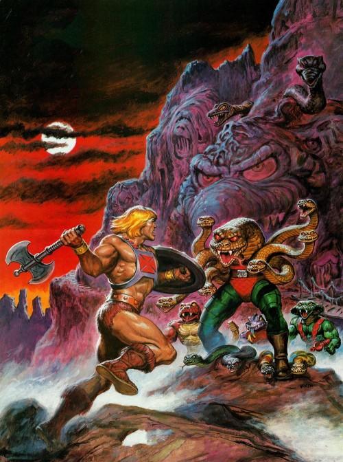 he-man vs snake men by earl norem