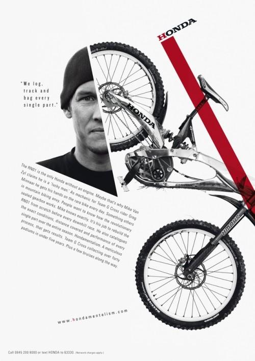 Hondamentalism - Honda racing spirit, print campaign